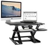 Hernandez Electric Height Adjustable Standing Desk Converter Symple Stuff