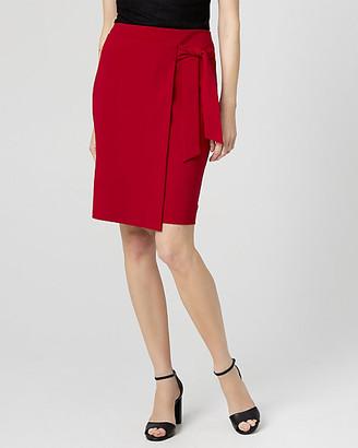 Le Château Knit Crepe Pencil Skirt