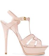 Saint Laurent high heel strappy sandals