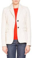 Altuzarra Two-Button Pinstripe Fenice Fitted Blazer