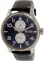 HUGO BOSS Men's Aeroliner 1513084 Leather Quartz Watch