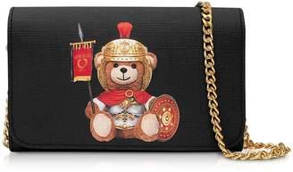 Moschino Teddy Bear Wallet Clutch W/chain Strap