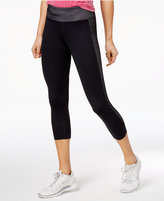 Tommy Hilfiger Cropped Mesh-Contrast Leggings, a Macy's Exclusive Style