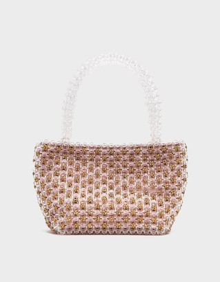 Loeffler Randall Mina Beaded Mini Tote