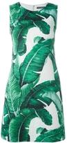 Dolce & Gabbana Palm Print Shift Dress