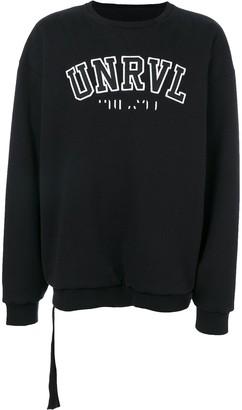 Unravel Project logo sweatshirt