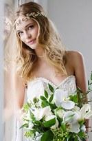 Brides & Hairpins Paula Grecian Leaf Halo & Sash