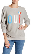 Wildfox Couture Oui Pullover