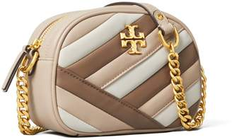 Tory Burch Kira Chevron Color-Block Small Camera Bag
