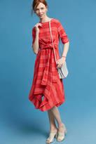 Eva Franco Striped Tie-Front Dress