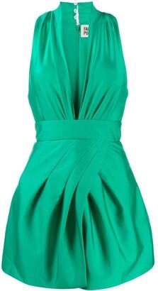 Fausto Puglisi V-neck mini dress