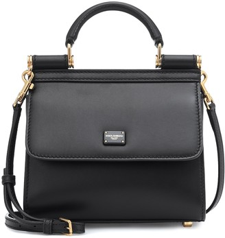 Dolce & Gabbana Sicily 58 Mini leather tote