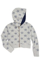 C&C California Girl's Starfish Graphic Hoodie