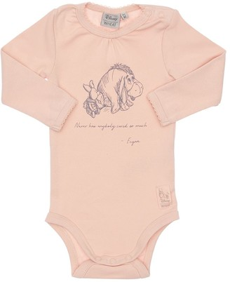 Pooh Print Organic Cotton Bodysuit