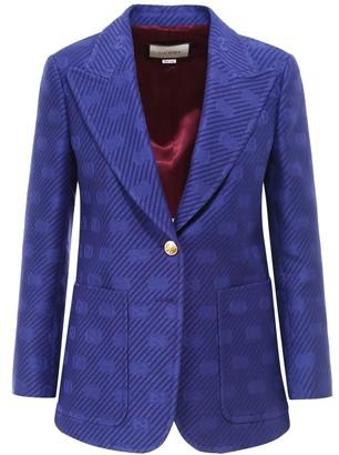 Gucci GG Embroidered Blazer