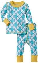Masala Jiva PJ Set (Baby) - Turq/Yellow-3-6 Months