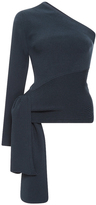 Cushnie et Ochs Knit One Shoulder Top