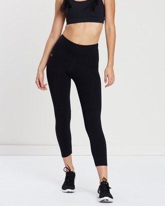 Brasilfit High Waisted Supplex Mid Calf Leggings