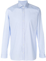 Z Zegna long-sleeved shirt - men - Cotton/Spandex/Elastane - 39
