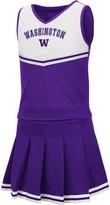 Colosseum Girls Youth Purple Washington Huskies Pinky Cheer Dress