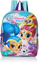 Nickelodeon Shimmer and Shine Little Girls Magic Carpet15 Inch Backpack with Lunch Kit
