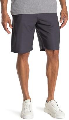 Travis Mathew Loreto Stripe Stretch Shorts