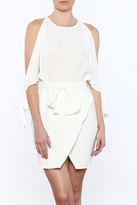 Lucca Couture White Mini Dress