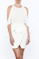 Lucca Couture White Mini Dress
