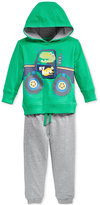 Nannette Baby Boys' 2-Pc. My Ride Truck Hoodie & Pants Set