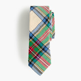 J.Crew Boys' cotton tie in holiday plaid