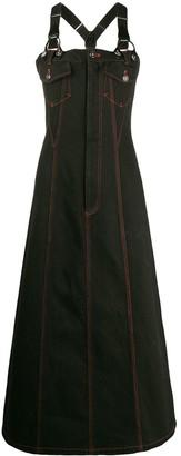 Jean Paul Gaultier Pre-Owned 1993 denim dungaree dress