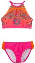 Limeapple Swimwear Girls' Cayo Geometric Tankini Set (7yrs16yrs) - 8142283