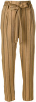 Forte Forte pinstriped trousers - women - Cupro/Viscose - 0