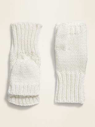 Old Navy Cable-Knit Flip-Top Mittens for Girls