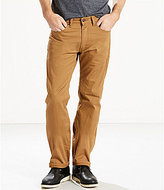 Levi's s 505TM Straight-Fit Stretch Slub Twill Jeans