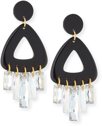 Nest Jewelry Crystal Drop Statement Earrings