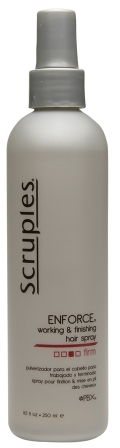 Scruples Enforce Working and Finishing Hair Spray, Firm