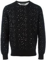 Alexander McQueen distressed sweatshirt