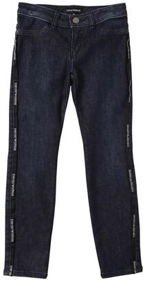 Emporio Armani Stretch Cotton Blend Denim Jeans