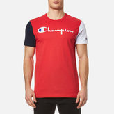 Champion Chest Logo Tshirt - Red