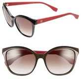Fendi 55mm Retro Sunglasses
