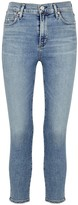 Citizens of Humanity Rocket light blue cropped skinny jeans