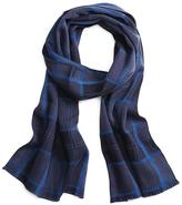 Brooks Brothers Windowpane Scarf