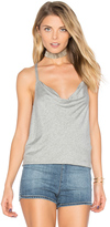 Chaser Strappy Drape Front Tank