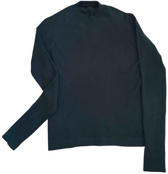 Balenciaga Green Cashmere Knitwear