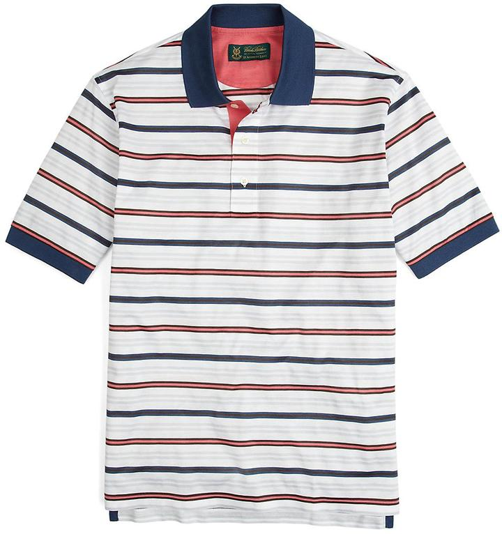 Brooks Brothers St Andrews Links Multistripe Polo Shirt