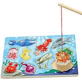 Melissa & Doug Magnetic Fishing Puzzle Game