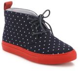 Del Toro Dotted Canvas Sneakers