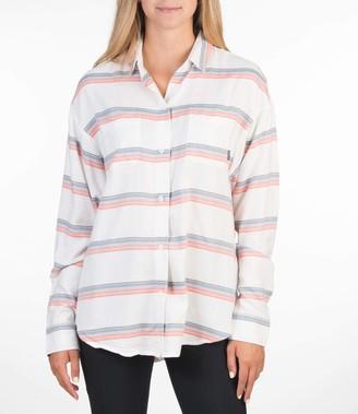 Hurley Women's W Wilson Stripe L/S Shirt