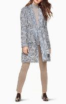 BCBGMAXAZRIA Annia Eyelash-Fringe Coat